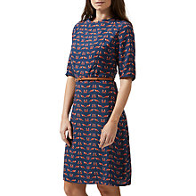 Buy Sugarhill Boutique Alysia Foxy Dress, Navy/Multi Online at johnlewis.com