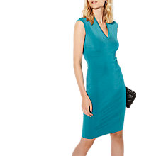 Buy Karen Millen Sport Panel Dress, Aqua Online at johnlewis.com