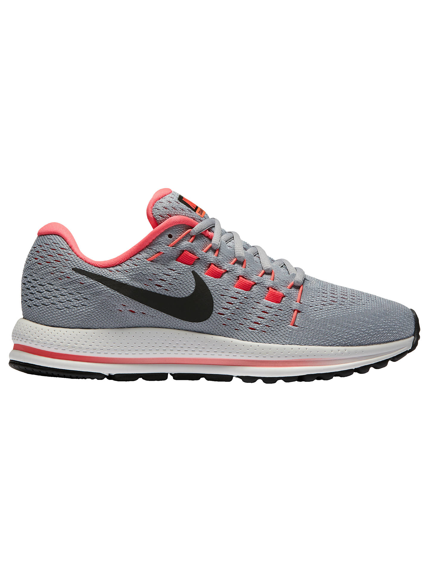 competitive price 870b1 1f90a Buy Nike Air Zoom Vomero 12 Women s Running Shoes, Black Grey Platinum,