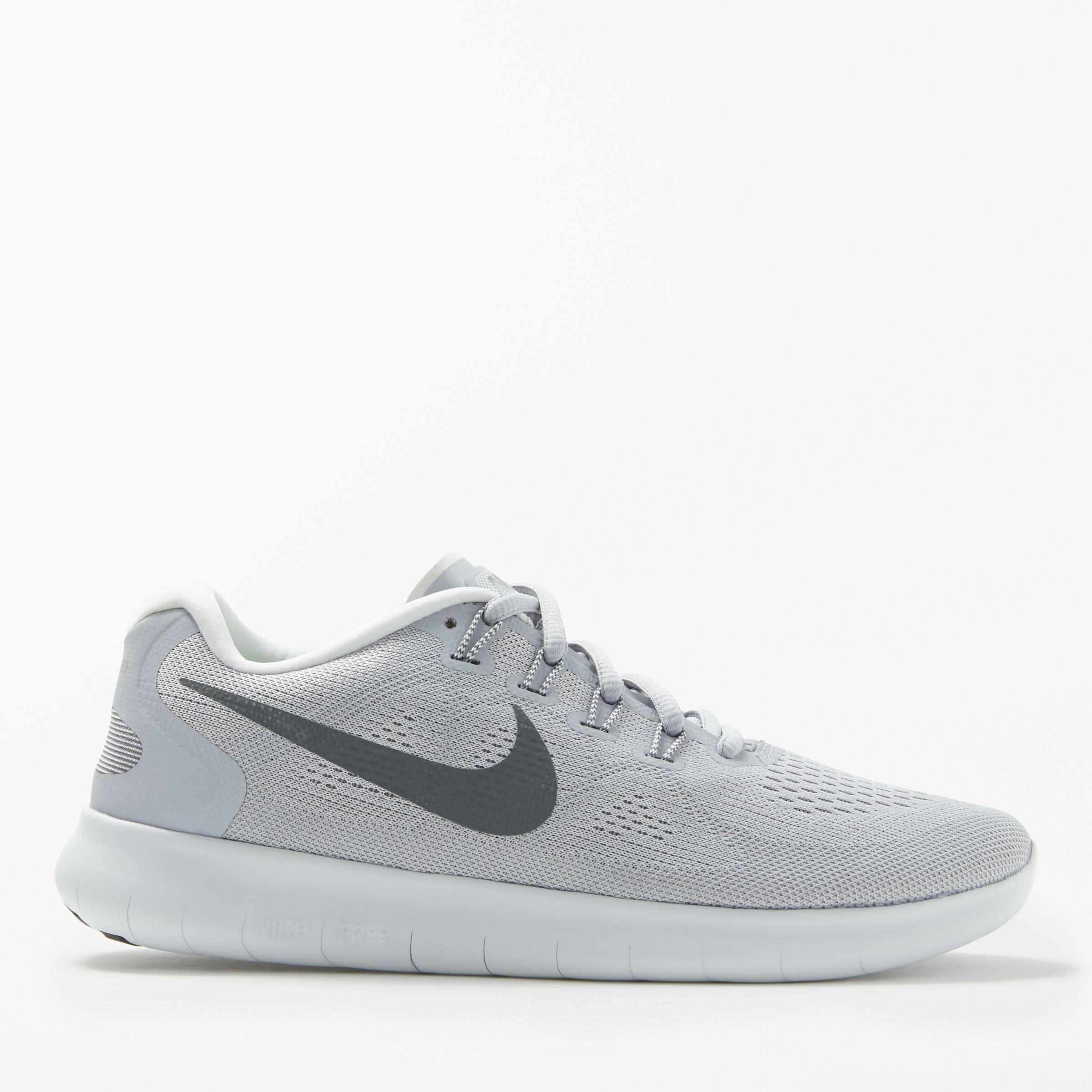 lowest price e1f2b aaac5 Nike Free RN 2017 Women's Running Shoes, Wolf Grey/Dark Grey ...