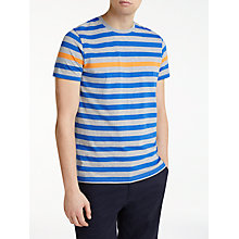 Buy Kin by John Lewis Breton Odd Stripe T-Shirt, Grey/Blue Online at johnlewis.com