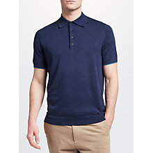 Buy John Lewis Knitted Pima Cotton Polo Shirt Online at johnlewis.com