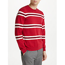 Buy Kin by John Lewis Retro Breton Stripe Jumper, Red Online at johnlewis.com