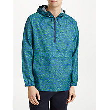 Buy Kin by John Lewis Camo Shower Resistant Overhead Anorak, Blue Online at johnlewis.com