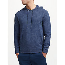 Buy John Lewis Budding Cotton Hoodie, Blue Online at johnlewis.com