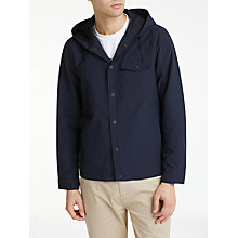 Buy Kin by John Lewis Shower Resistant Anorak, Navy Online at johnlewis.com