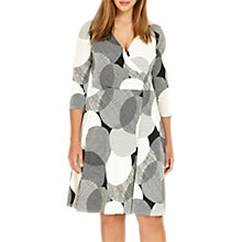 Buy Studio 8 Kimara V Neck Shift Dress, Monochrome Online at johnlewis.com