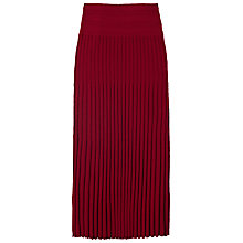 Buy Winser London Merino Wool Pleated Skirt Online at johnlewis.com