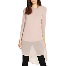 Buy Phase Eight Double Layer Blouse, Romantic Pink Online at johnlewis.com