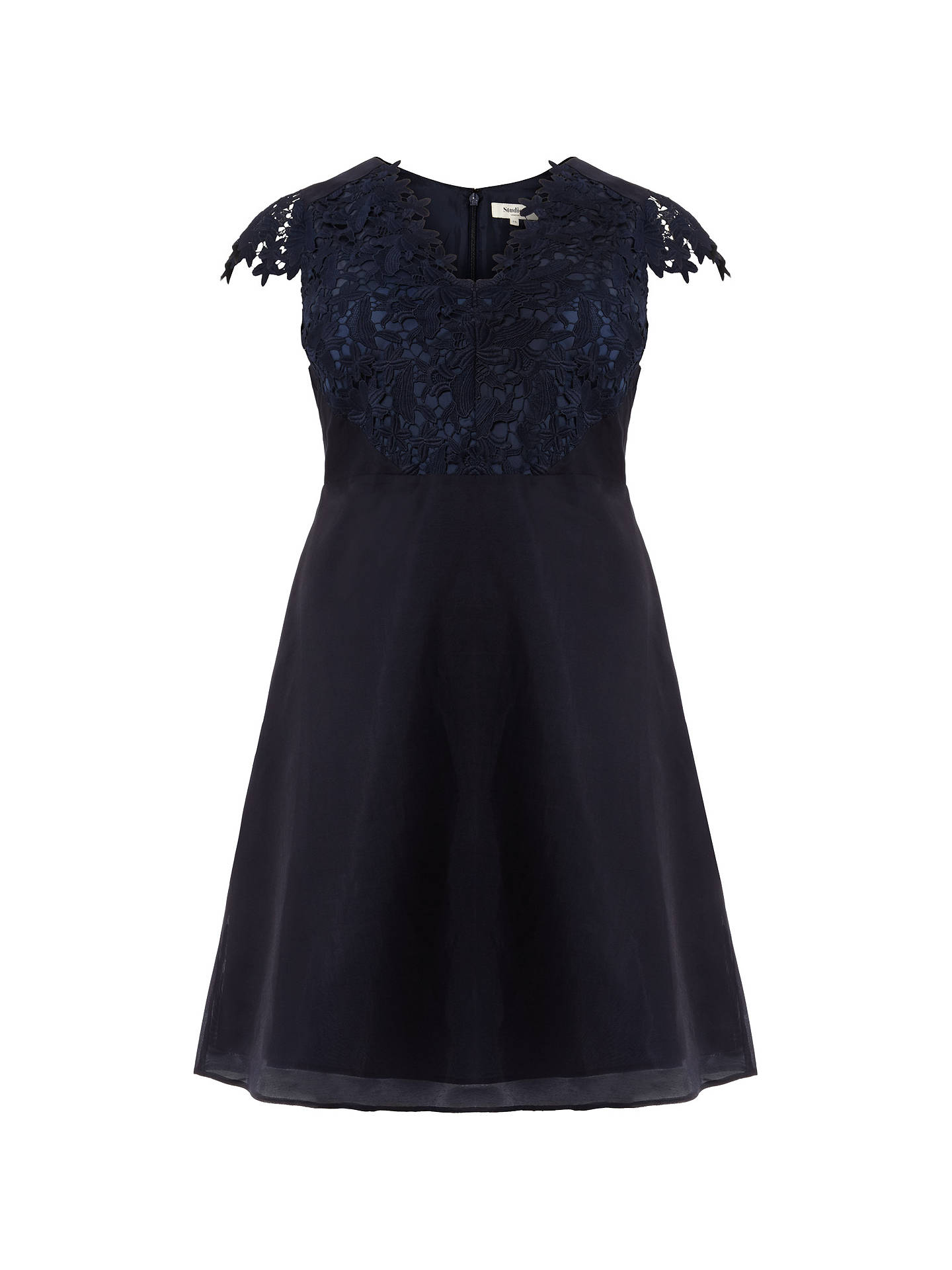 BuyStudio 8 Eliza Dress, Navy, 14 Online at johnlewis.com