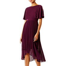 Buy Coast Hermione Bridesmaid Dress, Merlot Online at johnlewis.com
