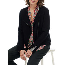 Buy Brora Merino Wool Biker Jacket Online at johnlewis.com