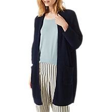 Buy Jigsaw Heavy Rib Cocoon Cardigan Online at johnlewis.com