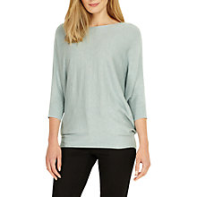 Buy Phase Eight Becca Batwing Jumper, Sage Online at johnlewis.com