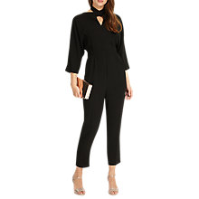 Buy Phase Eight Tia Jumpsuit, Black Online at johnlewis.com