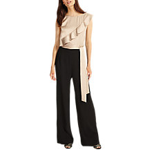 Buy Phase Eight Florentine Jumpsuit, Latte Online at johnlewis.com