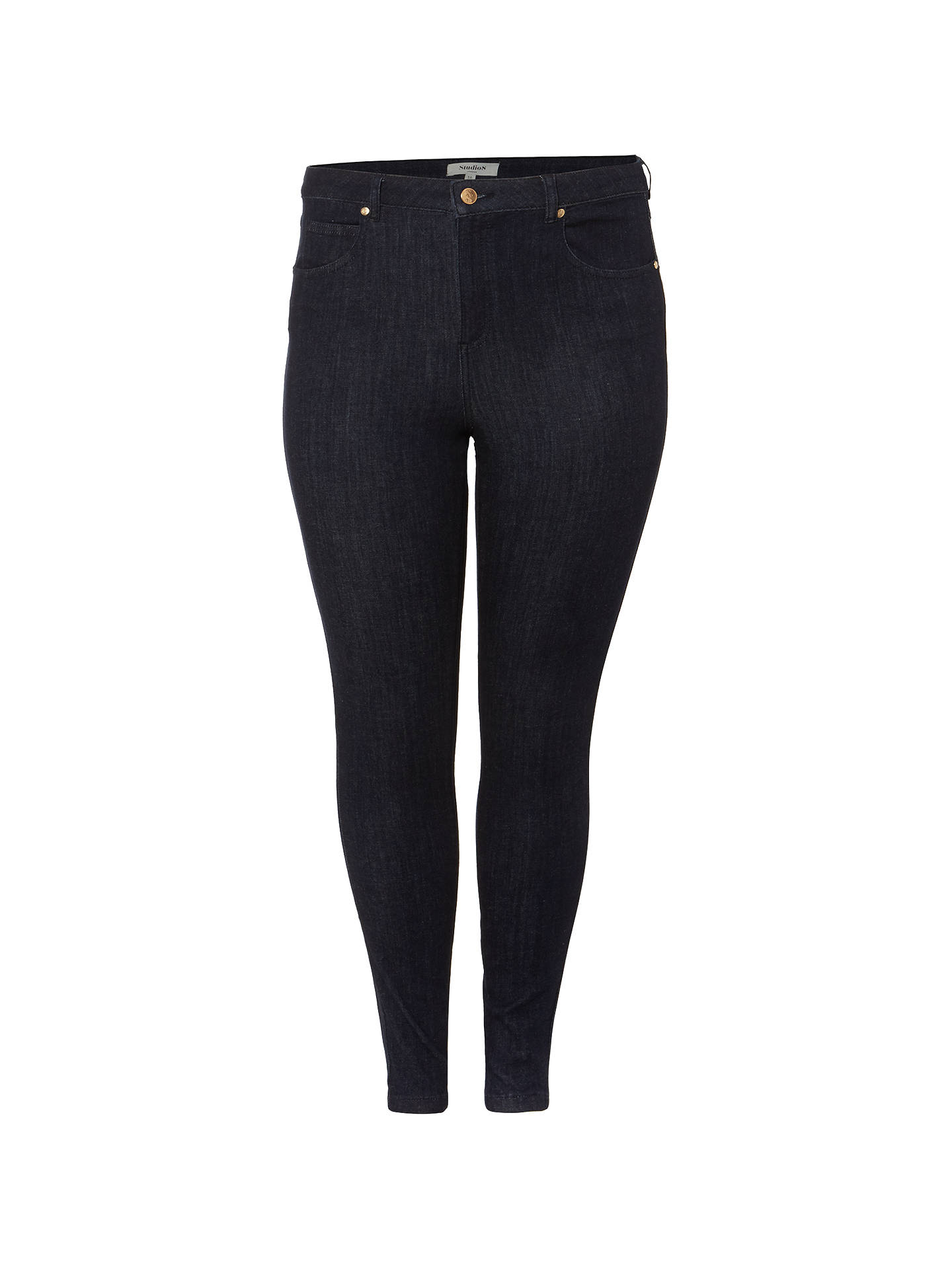 BuyStudio 8 Molly Jeans, Indigo, 12 Online at johnlewis.com