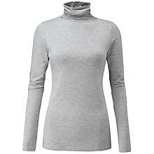 Buy Pure Collection Valeria Roll Neck Top Online at johnlewis.com