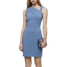 Buy Reiss Katerina Sleevless Bodycon Dress, Sapphire Online at johnlewis.com