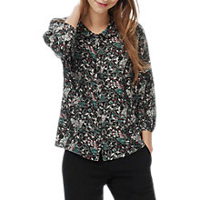 Buy Brora Liberty Print Silk Peter Pan Blouse Online at johnlewis.com