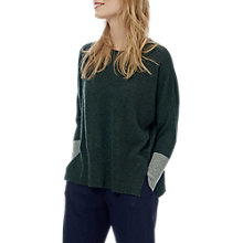 Buy Brora Cashmere Gauzy Colour Block Jumper Online at johnlewis.com