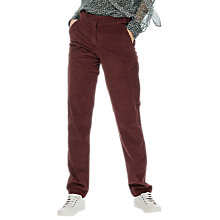 Buy Brora Jumbo Cord Trousers, Henna Online at johnlewis.com