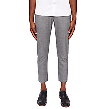 Buy Ted Baker Checked Trousers, Mid Grey Online at johnlewis.com