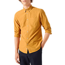 Buy Jigsaw Oxford Shirt, Amber Online at johnlewis.com