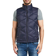 Buy BOSS Orange Opeyton Gilet, Dark Blue Online at johnlewis.com
