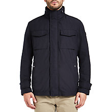 Buy BOSS Orange Onick Terry Jacket, Black Online at johnlewis.com