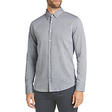 Buy BOSS Orange Epreppy Slim Fit Shirt, Dark Blue Online at johnlewis.com