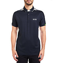 Buy BOSS Green Paddy MK Polo Shirt, Navy Online at johnlewis.com