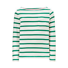 Buy John Lewis Girls' Breton Stripe T-Shirt Online at johnlewis.com
