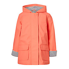 Buy John Lewis Girls' Raincoat, Pink Online at johnlewis.com