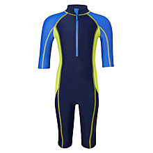 Buy John Lewis Boys' Colour Block SunPro, Navy Online at johnlewis.com