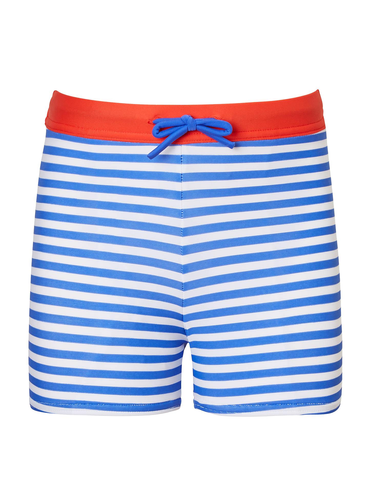 e40063a56 BuyJohn Lewis   Partners Boys  Stripe Printed Swimming Trunks