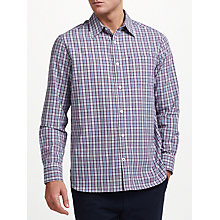 Buy John Lewis Leon Check Shirt, Purple Online at johnlewis.com