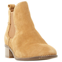 Buy Steve Madden Dicey Ankle Chelsea Boots, Taupe Suede Online at johnlewis.com