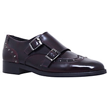 Buy Carvela Lucifer Double Strap Monk Shoes, Wine Online at johnlewis.com