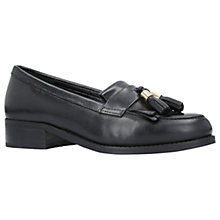 Buy Carvela Manor Tassel Loafers, Black Online at johnlewis.com