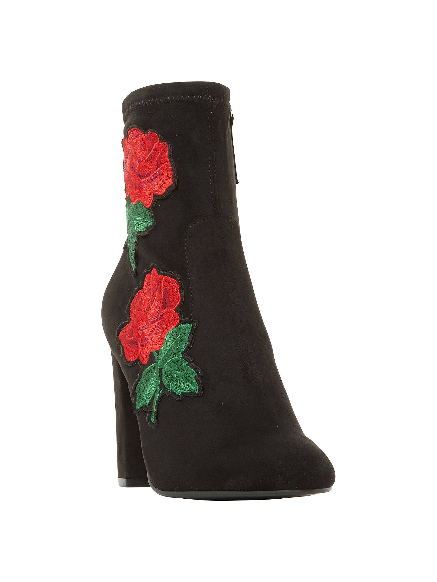 b132a7f822f Buy Steve Madden Edition Floral Sock Ankle Boots