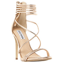 Buy Steve Madden Answer Multi Strap Stiletto Heeled Sandals Online at johnlewis.com