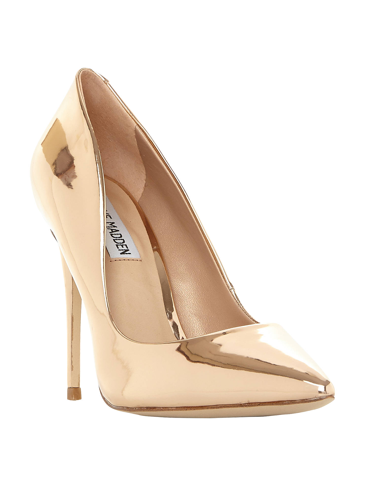 6c7766beae34 Steve Madden Daisie Stiletto Heeled Court Shoes at John Lewis   Partners
