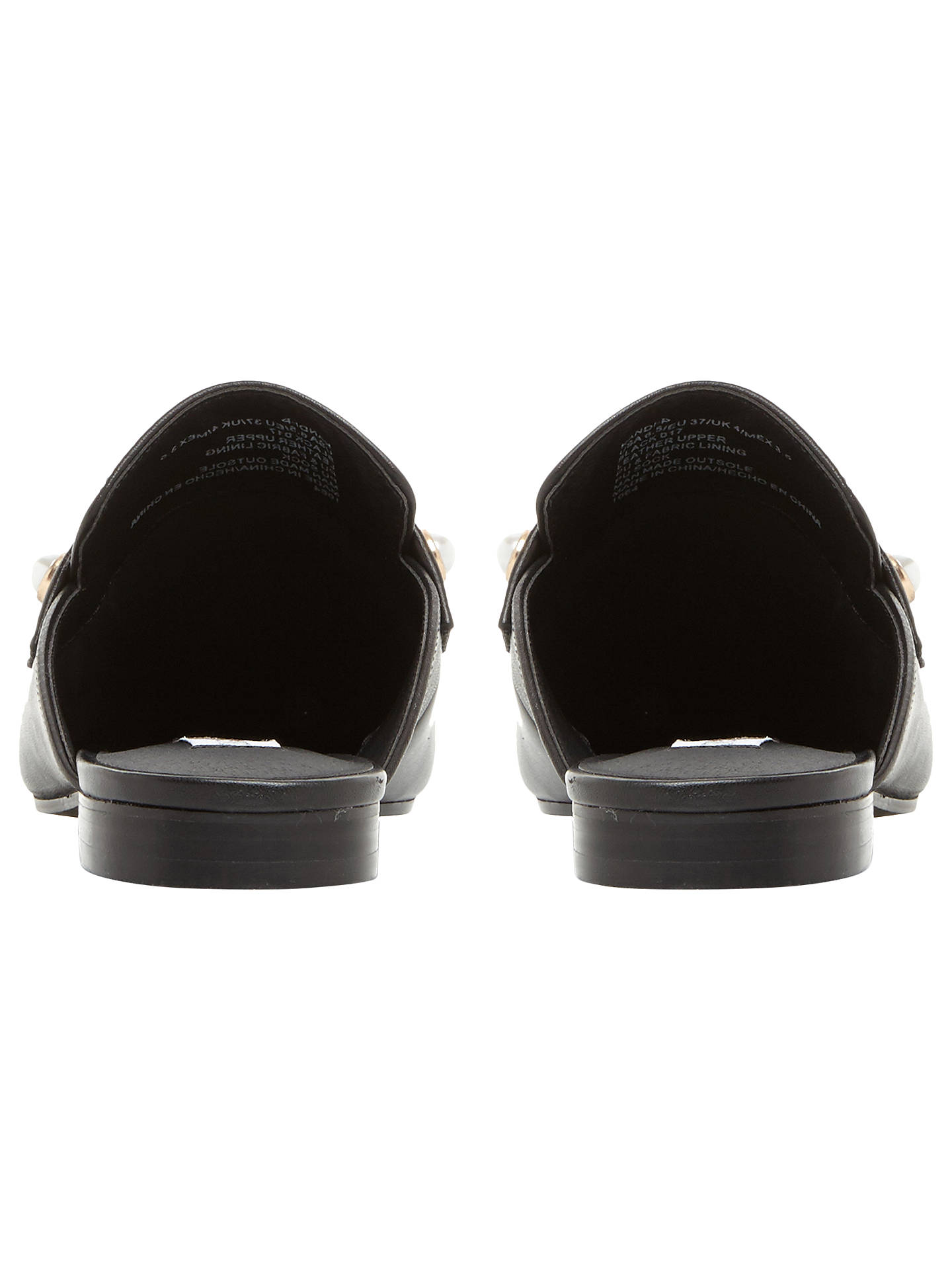 Buy Steve Madden Kandi-P Embellished Mule Loafers, Black, 6 Online at johnlewis.com