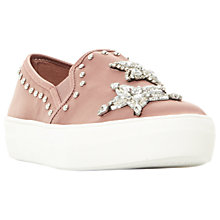 Buy Steve Madden Pluto Embellished Flatform Trainers Online at johnlewis.com