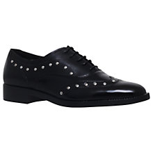 Buy Carvela Luxury Studded Brogues, Black Online at johnlewis.com