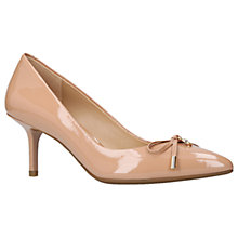 Buy MICHAEL Michael Kors Nancy Stiletto Pump Court Shoes, Nude Online at johnlewis.com