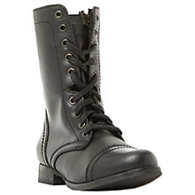 Buy Steve Madden Troopa Lace Up Boots Online at johnlewis.com