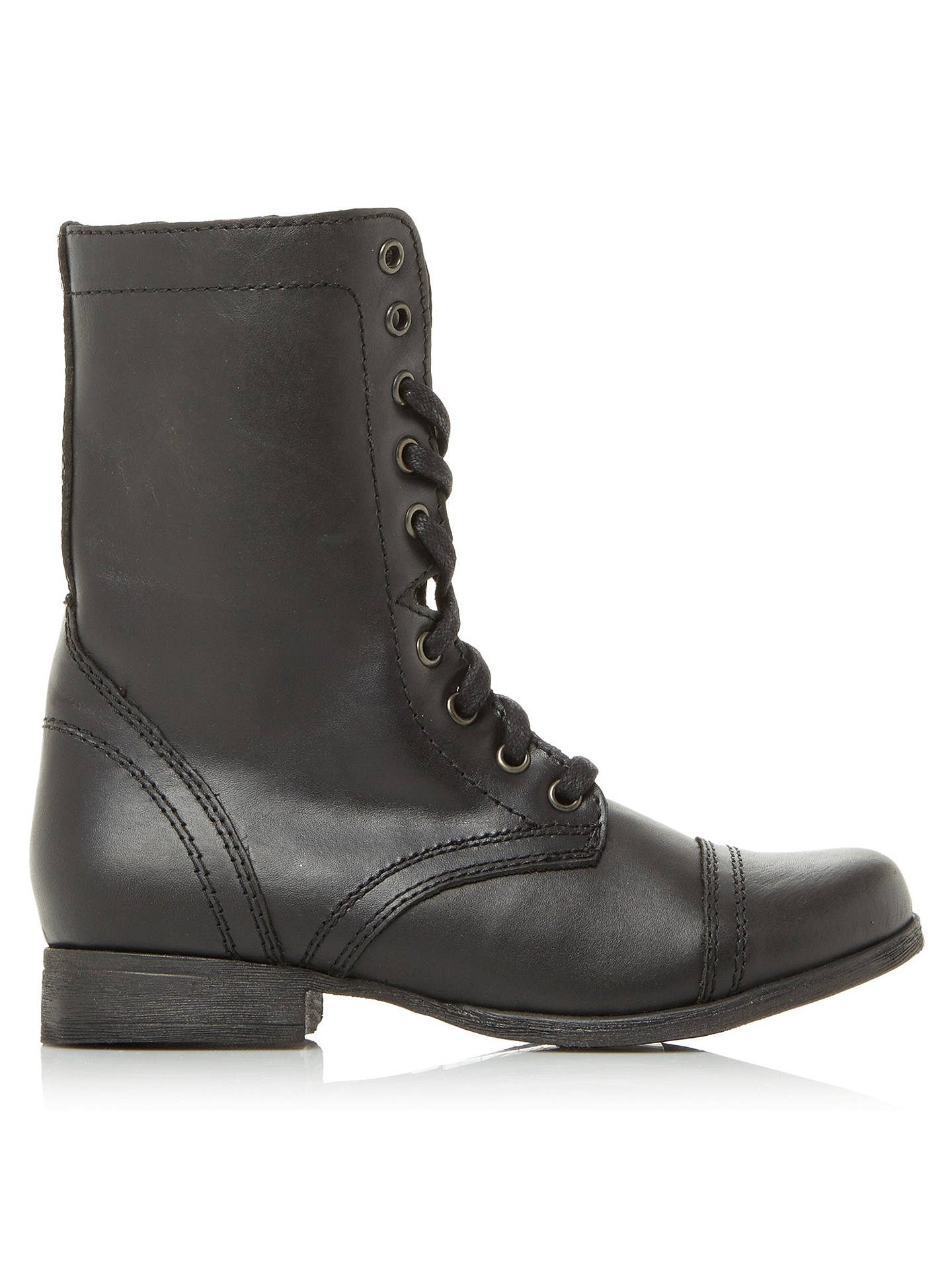 feb88f74f27 Steve Madden Troopa Lace Up Boots at John Lewis & Partners