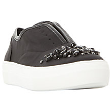 Buy Steve Madden Passion Embellished Flatform Trainers Online at johnlewis.com